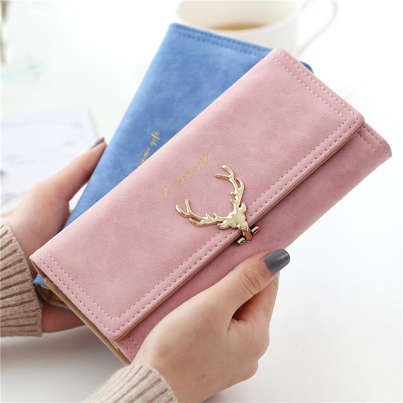 2018 Wallet Women Wallet High Capacity Fashion Long Female Purse Design Purse PU Leather Women Coin Purses Ladies Lovely Clutch 2017 new ladies purses in europe and america long wallet female cards holders cartoon cat pu wallet coin purses girl