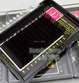 Lo Último en Lujo al por mayor 8-14 MM 0.07 C Rizo Negro Visón Pestañas de Extensión Individual de la Pestaña Falsa Natural de Maquillaje DIY Salon Kits