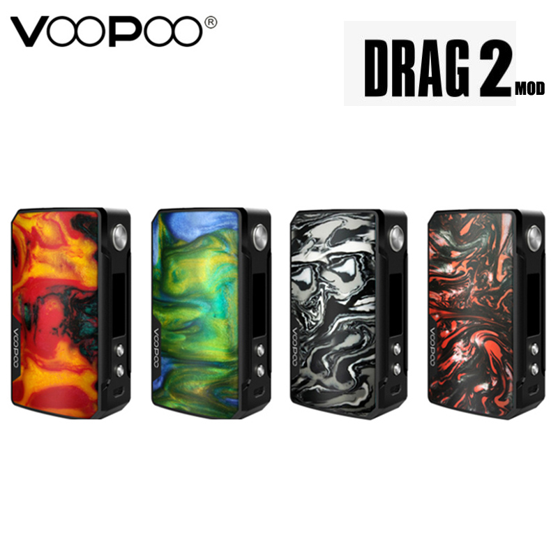 Original Voopoo Drag 2 177W Drag 2 Box MOD Vape Electronic Cigarette Vaporizer Support Uforce T2