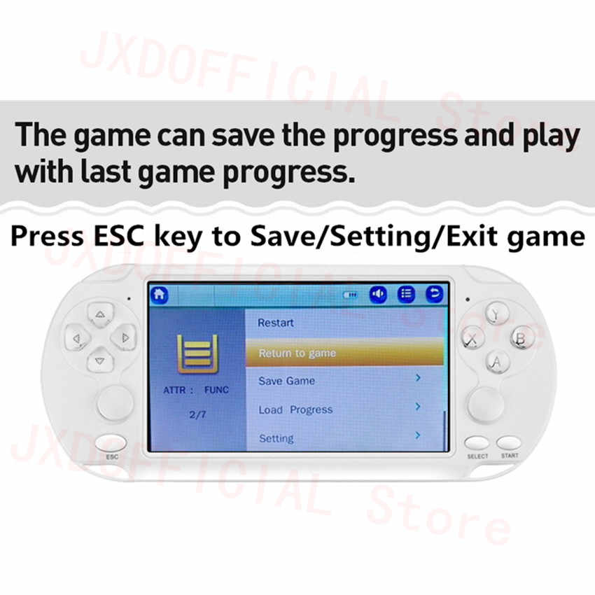 no gba disable esc key