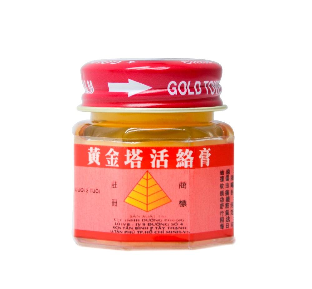 100% Original Vietnam Gold Tower Balm Salve Pain Relieving Patch - Sundhedspleje - Foto 3