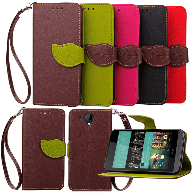 Flip Leaf Shape Leather Cases for ASUS ZenFone 5 T00J T00F A500CG A501CG A500KL Wallet Case Stand Tpu Soft Cover Phone Accessory