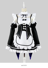 Re Zero Life In a Different World Manga Rem Maid Cosplay Dress