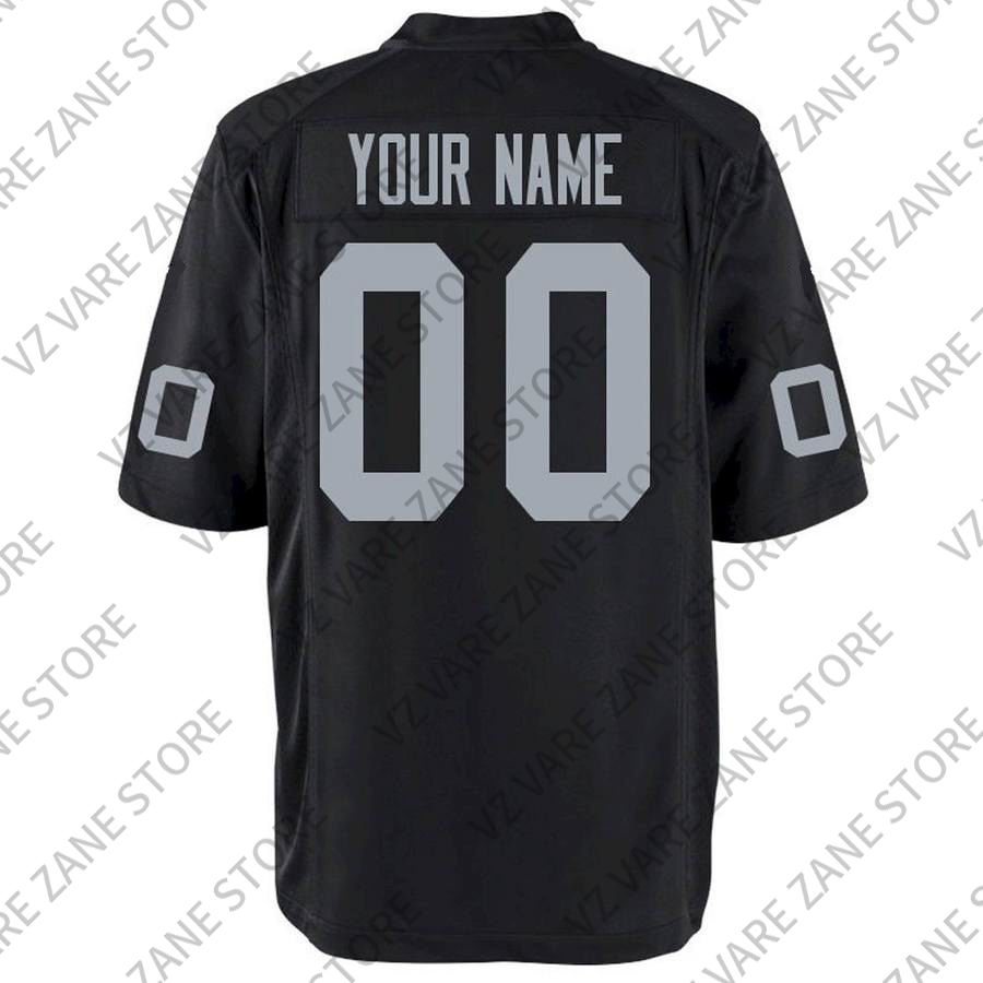 new product 04876 a6d89 Promo Customized American Football Derek Carr Antonio Brown Stitch Jerseys