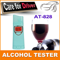 Factory patent supply New Digital Alcohol Tester With Red Backlight Alcohol Breathalyzer Breath Alcohol Tester Free Shipping