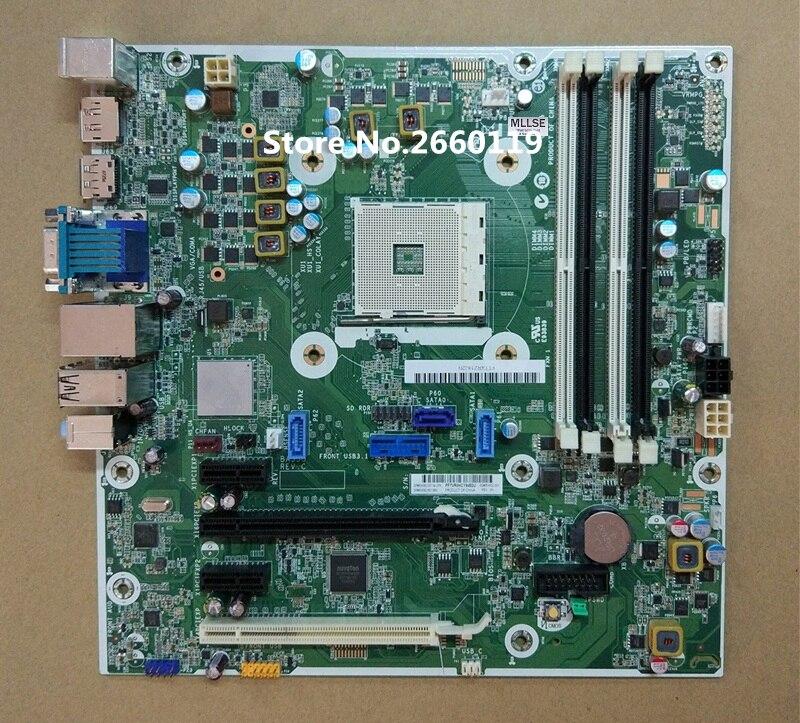 Desktop mainboard for 800 805 AM4 854582-001 854432-001 854582-601 motherboard Fully tested 805 001 16m10 2pa circular mil spec ] mr li