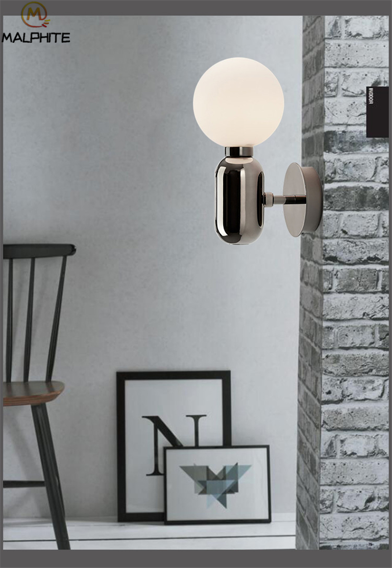 Modern Minimalist Gold Wall Lamp Lamps lights lustre led bed wall light bathroom bedroom stair light Corridor Living room