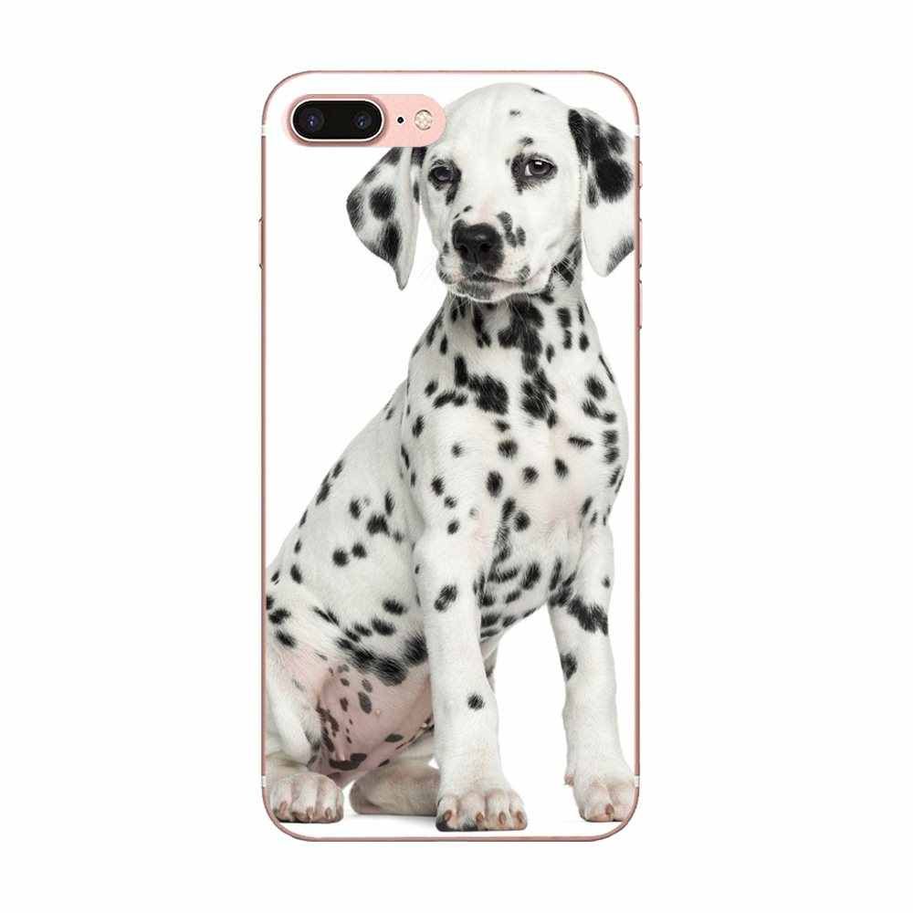 Dành cho Apple iPhone 4 4S 5 5C 5 5S SE 6 6 S 7 8 Plus X XS Max XR TPU Tùy Chỉnh Thiết Kế Động Vật Chó Chó Đốm Con Chó Con