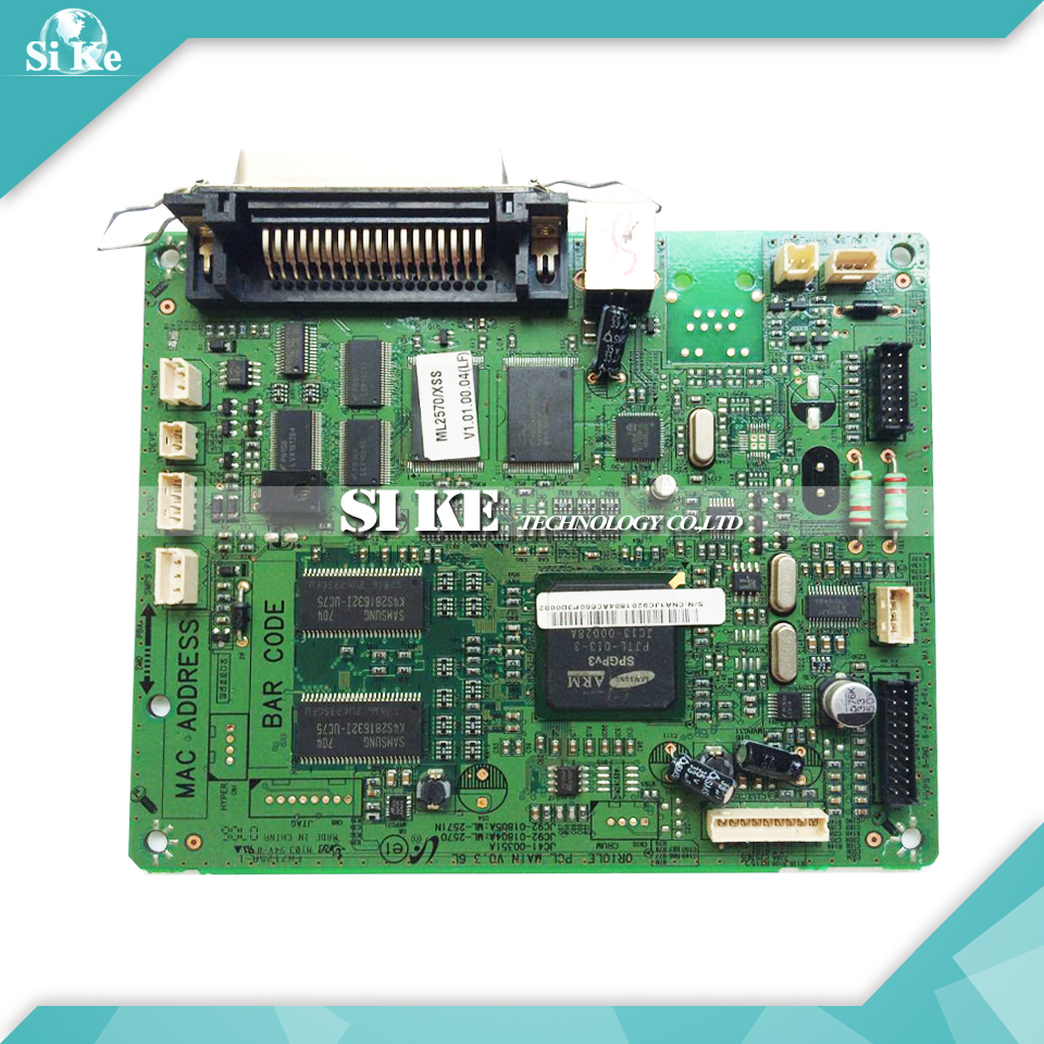 Printer Main Board For Samsung ML-2570 ML-2571 ML2570 ML2571 ML 2570 2571 Formatter Board Mainboard Logic Board formatter main board mainboard for epson tm t88v label printer