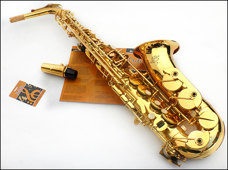 Popular saxophone brass instrument buy cheap saxophone for Yamaha yfl225s flute sale