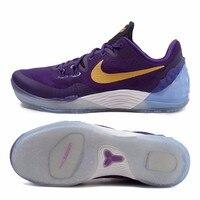 Оригинальный NIKE Kobe Venom 5 ZOOM Мужская дышащая Баскетбольная обувь для мужчин кроссовки Нескользящая спортивная обувь So Cool
