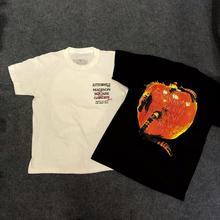 19ss Travis Scott Astroworld Tour Vegas T Shirt Men Women Flame Apple Streetwear Summer T-shirt Harajuku ASTROWORLD Tshirt