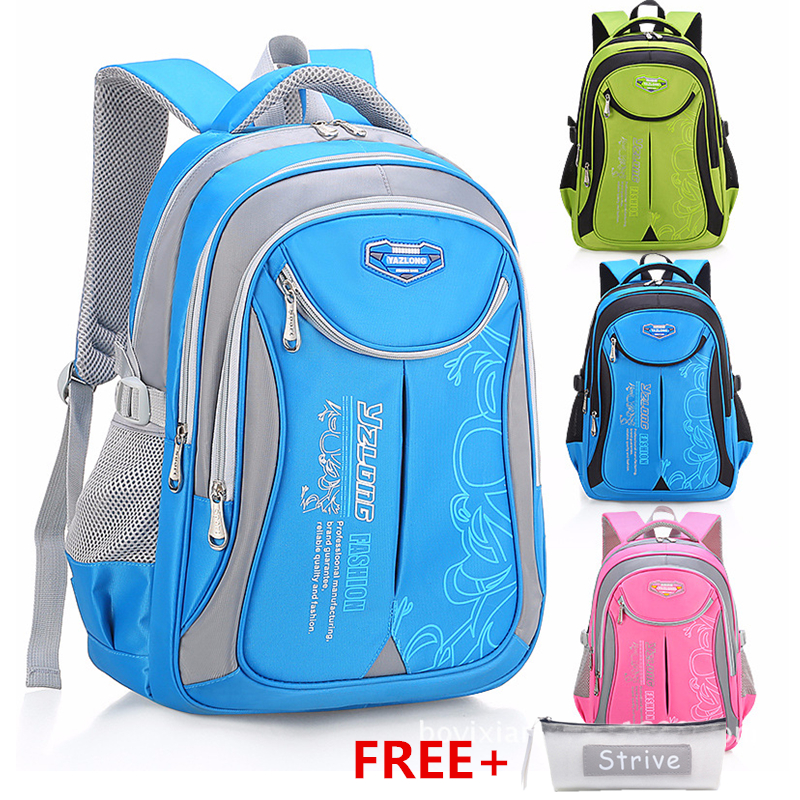 HLDAFA Backpack Schoolbag Children School Bags for Teenagers Boys Girls Big Capacity Waterproof Satchel Kids Book Bag Mochila