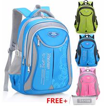 HLDAFA plecak Schoolbag dzieci szkoły torby dla nastolatków Boys Girls duża pojemność wodoodporna Satchel dzieci Book Bag Mochila tanie tanio School Bags Zamek Nylon Chłopców Patchwork 30cm 20cm 45cm do 0 5 kg W-332