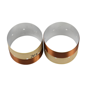 Image 4 - GHXAMP Speaker BASS Voice Coil 4inch 6.5 INCH 10 INCH 18 Inch Subwoofer Speaker Repair 8OHM White Aluminum Sound Air Outlet 2PCS