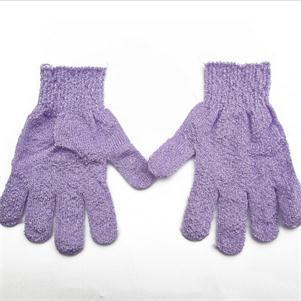 1pc Women Scrubber Body Massage Sponge Gloves Practical Bath Shower Glove Body Wash Shower Gel Exfoliating Accessories Hot