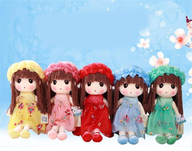 35cm Plush Toy Cute Girl Rag Doll Variety Of optional Birthday Gift Tanabata Creative Gift17