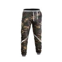 Camouflage sports pants joggers men streetwear pants men