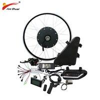 48 В 1000 Вт Электрический велосипед набор преобразования с 48 В 20AH Батарея Мотор колеса для 20 26 700C мощная Ebike электронный diy kit