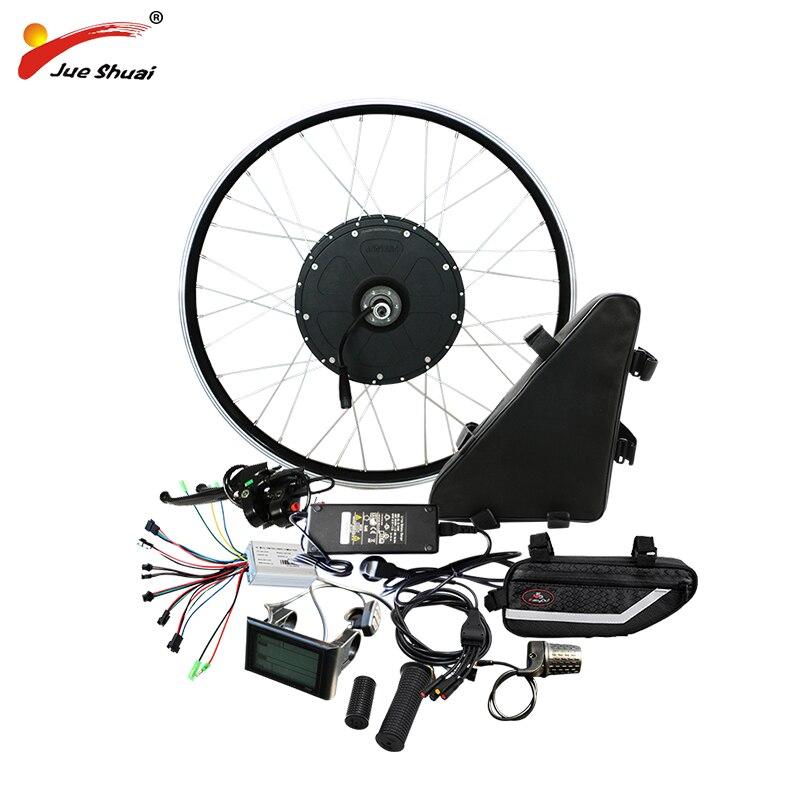 48 v 1000 w Vélo Électrique Kit de Conversion avec 48 v 20AH Batterie Moteur Roue pour 20 26 700C Puissant Ebike électronique diy kit