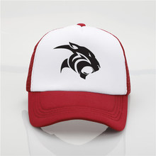 18b373d910d95 fashion hat Black Panther printing net cap baseball cap Men and women  Summer Trend Cap New
