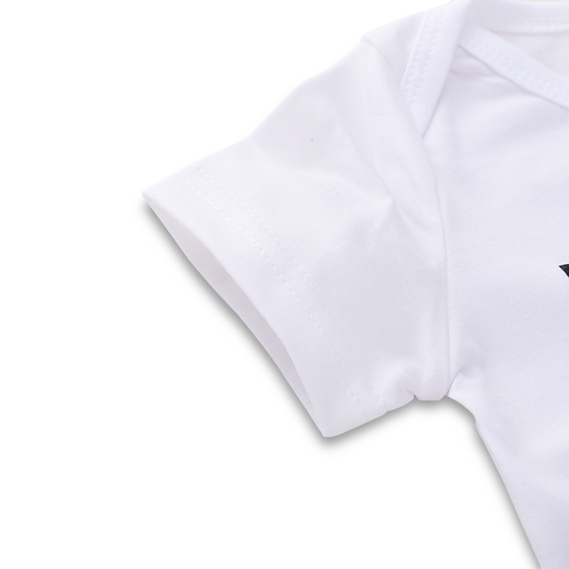 2019 Baby Bodysuit My Aunt Letter Print White Onesie Short Sleeve Tiny Cottons One Piece Auntie Baby Clothes 6 18 Months in Bodysuits from Mother Kids