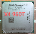 AMD Phenom II X4 960T 3.0Ghz L3=6MB Quad-Core Processor Socket AM3 (working 100% Free Shipping)