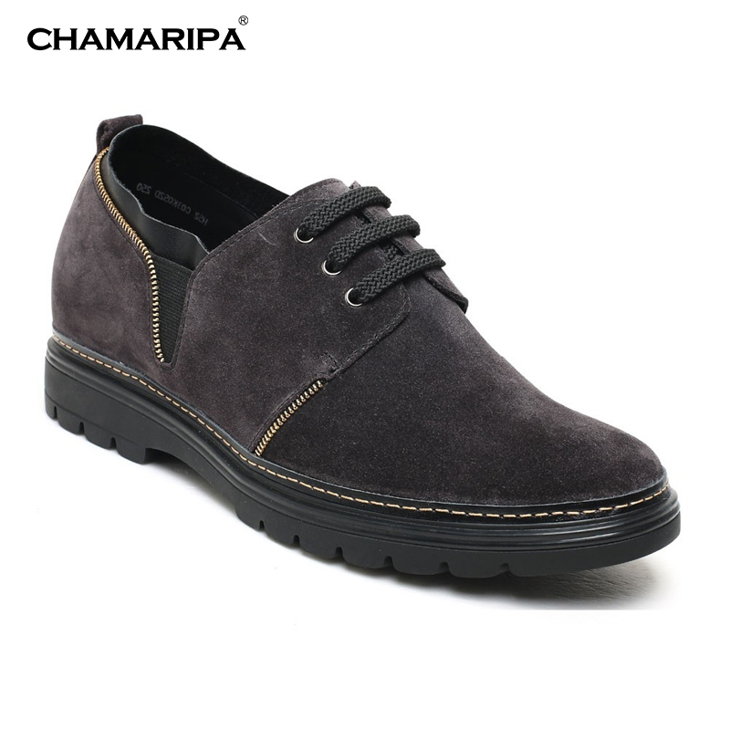 CHAMARIPA Increase Height 7cm/2.76 inch Lifting Shoes Men Elevator Shoe Casual  Shoes  Taller H52C03K052D кастрюля taller tr 1083