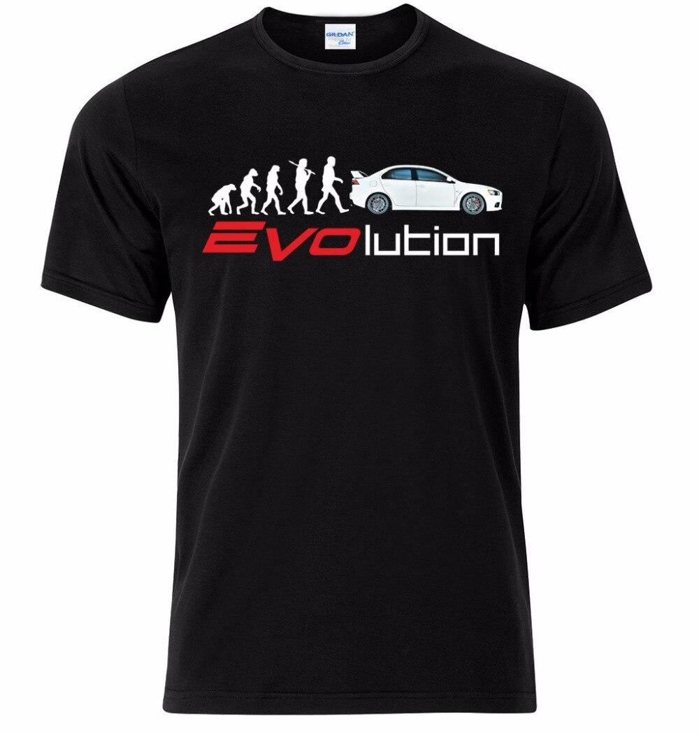 2018 г. модные брендовые Для мужчин летняя футболка Для мужчин марка Lancer Evo IX x XI XII Вентиляторы Эволюция Размеры S-XXXL Tee рубашка ...