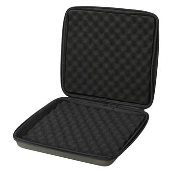 Caja de aparejos de pesca Lixada, caja de almacenamiento acolchada con alarma de mordida, caja de protección para herramientas de pesca