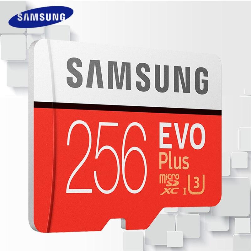 SAMSUNG 100 MB/S tarjeta Micro SD 256G 128 GB 64 GB 32 GB 16 GB 8 GB ...