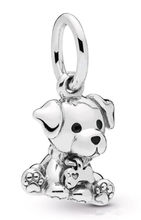 Original 925 Sterling Silver Bead Charm Labrador Dog Pendant Charm Fit Pandora Women Bracelet & Necklace Diy Jewelry(China)