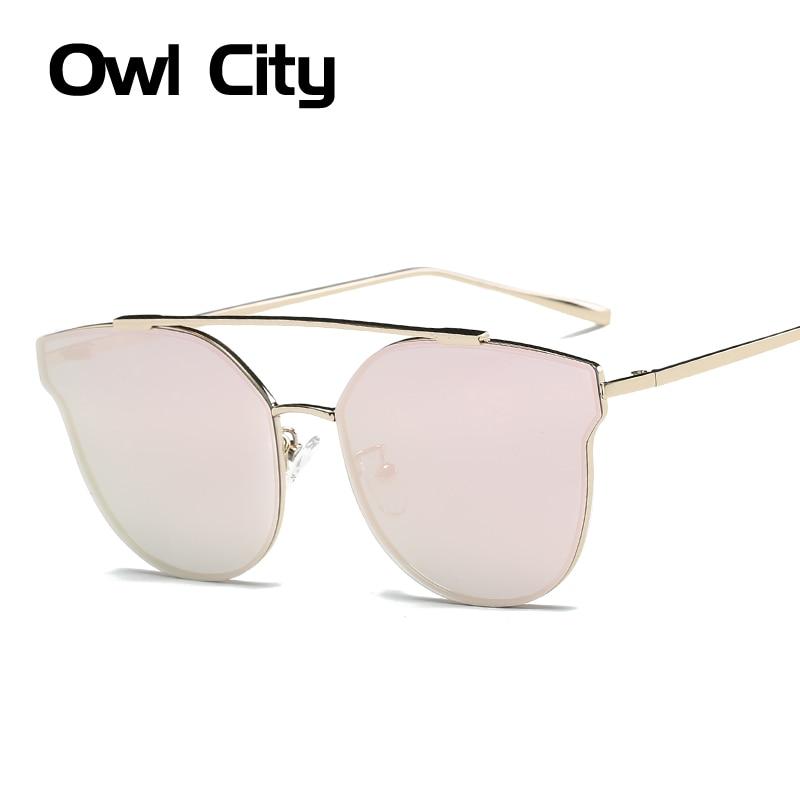 Женщин кошачий глаз солнцезащитные очки Классические Брендовая Дизайнерская обувь Солнцезащитные очки женские солнцезащитных очков зерк...