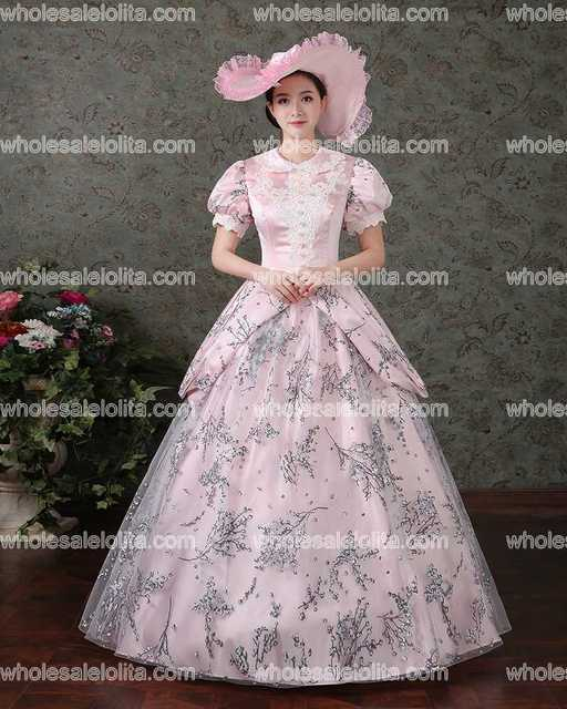 Colonial Victorian Gothic Steampunk Dress Gothic Period Gowns ...