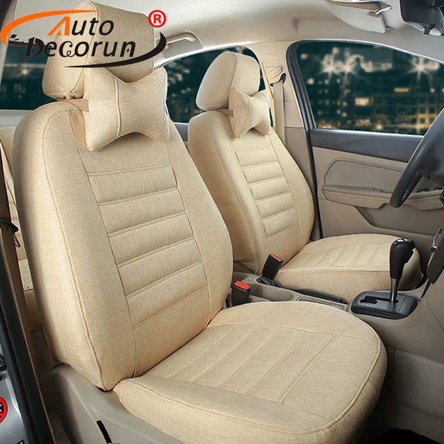 AutoDecorun Car Seats Cushion Cover for Hyundai Tucson 2016 Automobiles Seat Covers Seat Support protector Interior Accessories