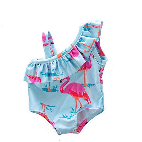 Fashion Leisure Zwemmen Pak Fit Voor Geboren 43 Cm Poppenkleertjes Pop Accessoires Voor 17 Inch Babypop
