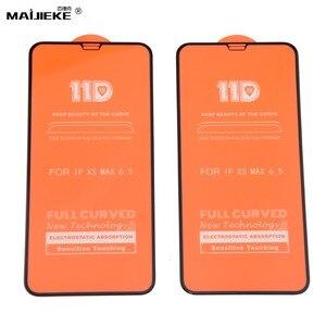 Image 2 - 10 pièces 11D verre trempé pour iPhone 11 pro max protecteur décran pour iPhone XXS Max XR 8 7 6s 6 plus Film de protection décran
