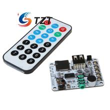 Wireless Bluetooth Audio Receiver Board Preamp Support USB TF Card for Power Amplifier