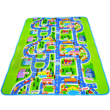 200*160cm Larger size ~ Baby play mat ( High quality ) baby crawl mat City style free shipping цена 2017