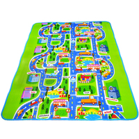 200 160cm Larger Size Baby Play Mat High Quality Baby Crawl Mat City Style Free Shipping