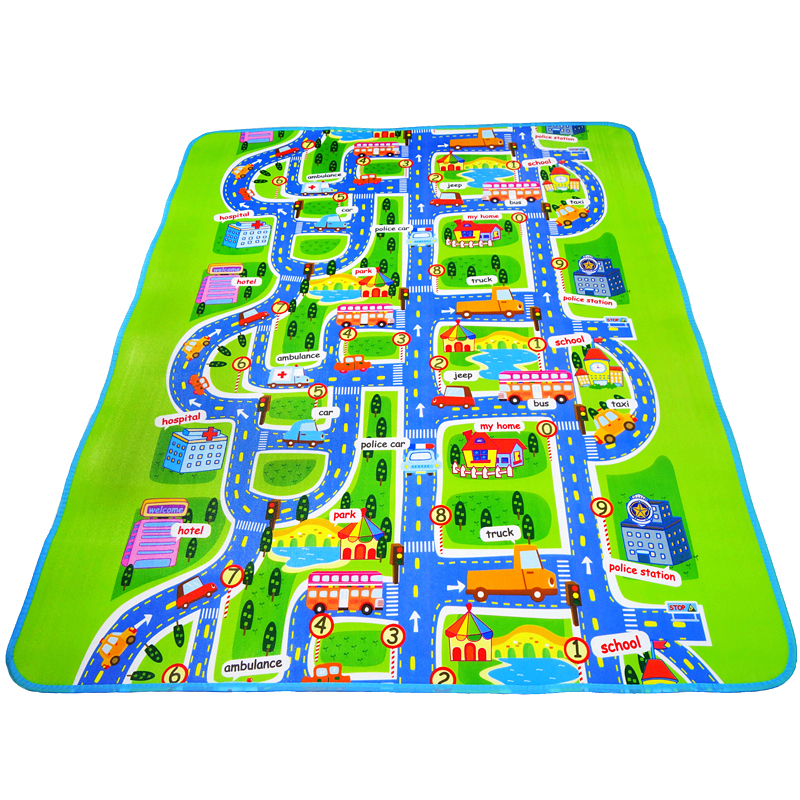 Nice Imiwei Baby Play Mat City Mat Children Carpet Kids Toys Developing Rug  Children Rugs Baby Toys