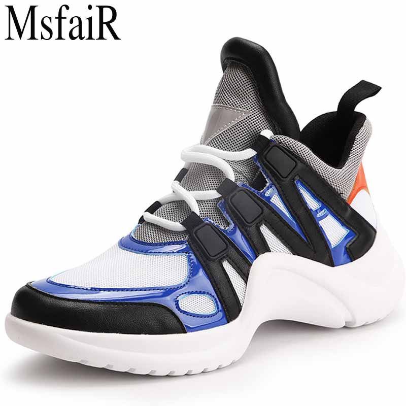 MSFSIR 2018 Running Shoes Woman Brand Summer Breathable Mesh Sport Shoes For Women Outdoor Athletic Walking Women Sport Shoes 2018 autumn sneakers women breathable mesh running shoes damping sport shoes woman outdoor blue walking zapatos de mujer betis