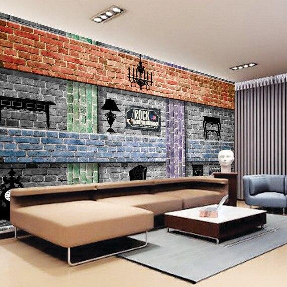 Online get cheap modern lounge sofas for Cheap wallpaper mural