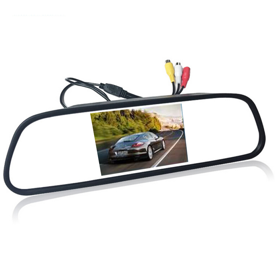 4.3 4.3 inch TFT LCD Color Car rear view mirror monitor video DVD player car audio auto for Car Reverse camera 4 3 4 3 inch tft lcd color car rear view mirror monitor video dvd player car audio auto for car reverse camera