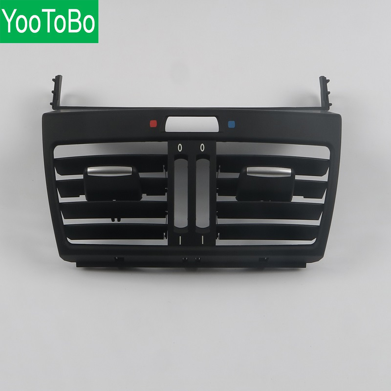 Rear Center Console Fresh Air Outlet Vent Grille Cover for BMW X5 E70 X6 E71 64226954954