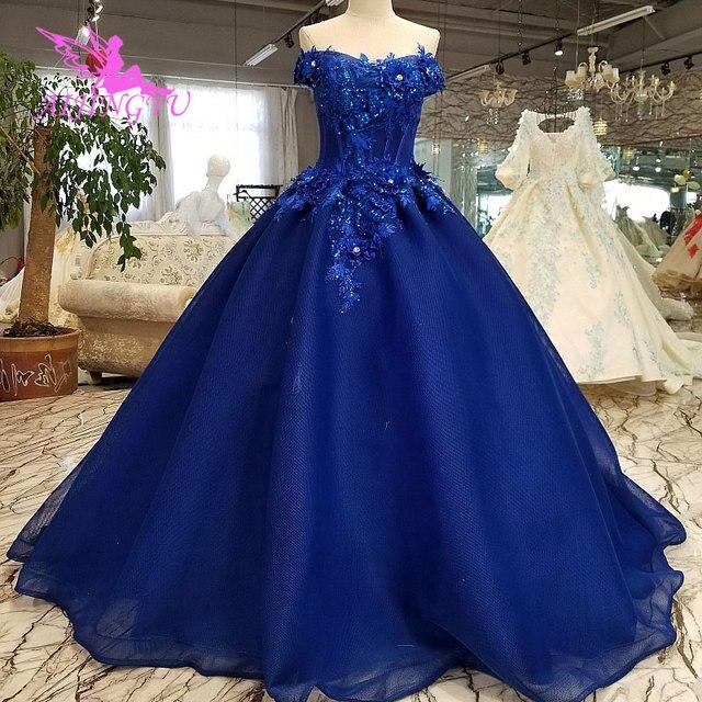 AIJINGYU חתונה שמלות חתונות שמלת לתפור רומנטי 2021 2020 נסיכת שמלות תמונות שמלת כלה נהדרת