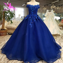 Aijingyuのウェディングドレスウェディングドレス縫うロマンチックな2021 2020プリンセスドレス写真ワンダフルウェディングドレス