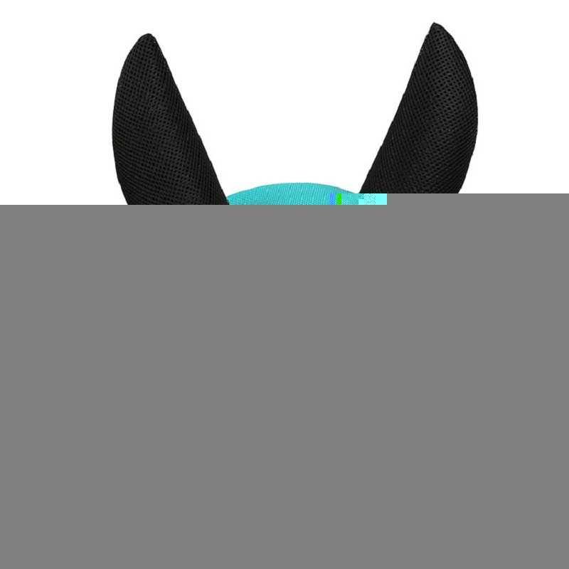 Couvre-oreilles de cheval masque de mouche Bonnet net masques d'oreille protecteur cheval équitation respirant maille produits de soin de cheval TX005