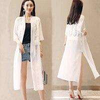 45264b5990a3 2018 Summer Chiffon Lace Patchwork Blouse Women Half Sleeve Tops Loose Plus  Size Black White Chiffon