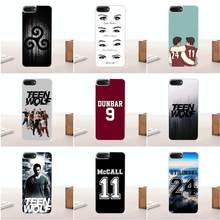 Bixedx Scott Mccall Teen Wolf Soft Silicone TPU Transparent Phone Skin For Apple iPhone 4 4S 5 5C SE 6 6S 7 8 Plus X(China)